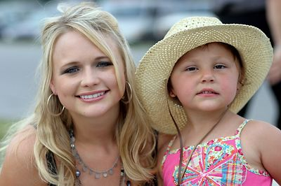 "Miranda and Dave ""Boom Boom"" Cannon's daughter (Dave does middays on Great Country 107.7)"